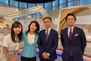 テレビ東京「モーニングサテライト」に新村が出演しました。