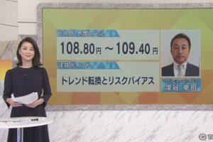 テレビ東京「モーニングサテライト」で深谷が解説しました。